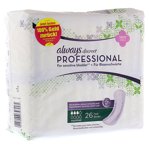 ALWAYS discreet professional normal 26 Stück