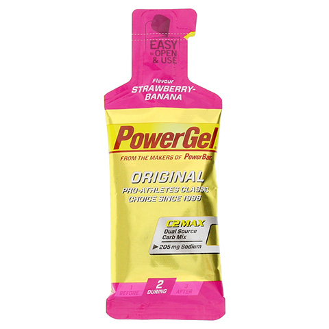 POWERBAR PowerGel Strawberry-Banana 41 Gramm