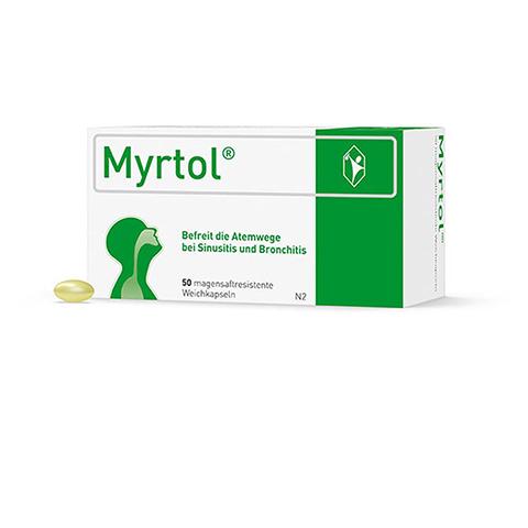 MYRTOL magensaftresistente Weichkapseln 50 Stück N2