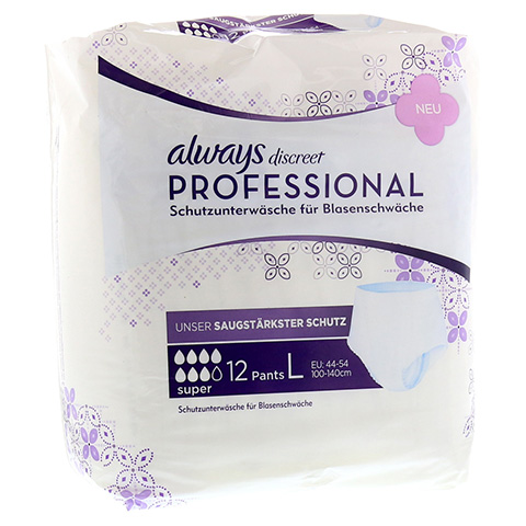 ALWAYS discreet professional Pants super large 12 Stück