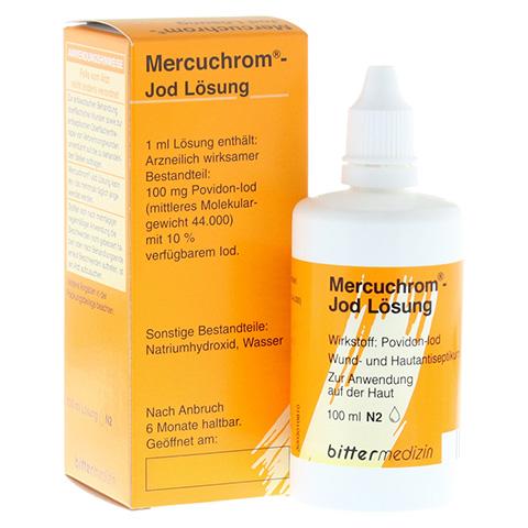 MERCUCHROM Jod Lösung 100 Milliliter N2
