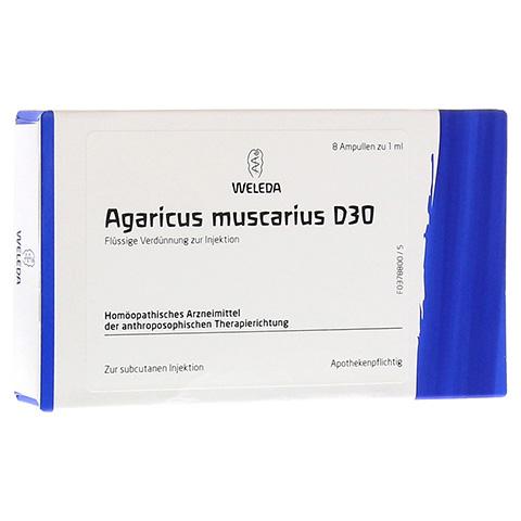 AGARICUS MUSCARIUS D 30 Ampullen 8x1 Milliliter N1