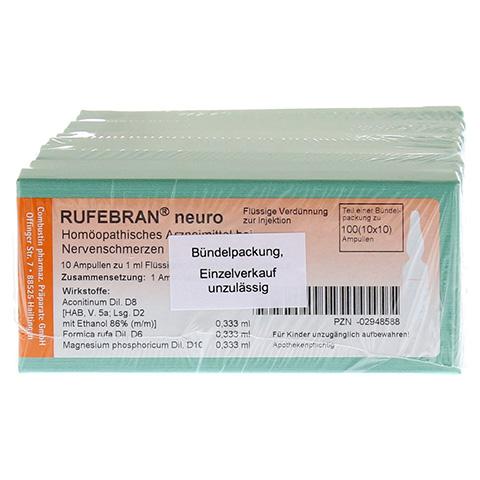 RUFEBRAN neuro Ampullen 100 Stück N3