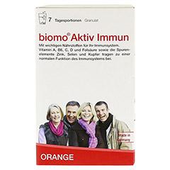 BIOMO Aktiv Immun Granulat 7 Stück - Vorderseite