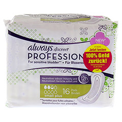 ALWAYS discreet professional small plus 16 Stück - Vorderseite