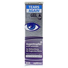 TEARS Again Gel Augentropfen 10 Milliliter - Vorderseite