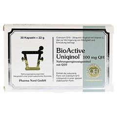 BIOACTIVE Uniqinol 100 mg QH Pharma Nord Kapseln 30 Stück - Vorderseite