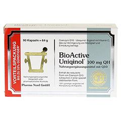 BIOACTIVE Uniqinol 100 mg QH Pharma Nord Kapseln 90 Stück - Vorderseite