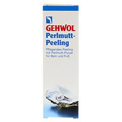 GEHWOL Perlmutt Peeling Tube 125 Milliliter - Vorderseite
