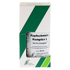 KOPFSCHMERZ KOMPLEX L Ho-Fu-Complex Tropfen 50 Milliliter N1 - Vorderseite