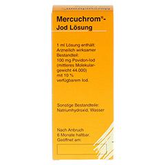 MERCUCHROM Jod Lösung 100 Milliliter N2 - Vorderseite