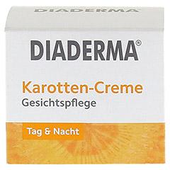 DIADERMA Karotten Creme 50 Milliliter - Vorderseite