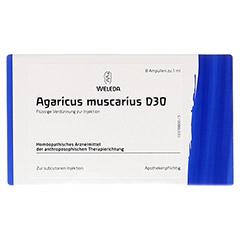 AGARICUS MUSCARIUS D 30 Ampullen 8x1 Milliliter N1 - Vorderseite