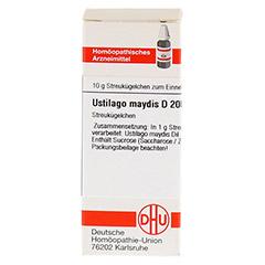 USTILAGO MAYDIS D 200 Globuli 10 Gramm N1 - Vorderseite