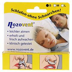 NOZOVENT small Nasenklammern 2 Stück - Vorderseite