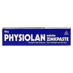 PHYSIOLAN weiche Zinkpaste 20 Gramm N1 - Vorderseite