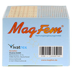 MAGFEM Filmtabletten 240 Stück - Linke Seite