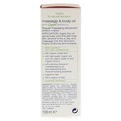 TÖPFER Mamacare Massage & Pflegeöl 100 Milliliter - Linke Seite