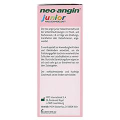NEO ANGIN junior Halsschmerzsaft 100 Milliliter - Linke Seite