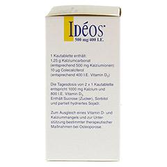 Ideos 500mg/400I.E. 90 Stück - Linke Seite