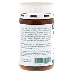 YAMSWURZEL WILD Yam 250 mg Kapseln 120 Stück - Linke Seite
