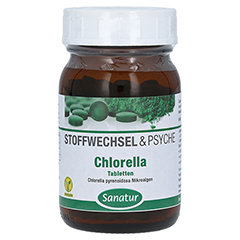 CHLORELLA MIKROALGEN 400 mg Sanatur Tabletten 250 Stück
