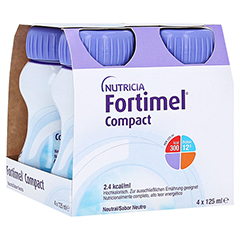 FORTIMEL Compact 2.4 Neutral 4x125 Milliliter