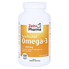 OMEGA-3 500 mg Caps 300 Stück