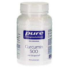 PURE ENCAPSULATIONS Curcumin 500 mit Bioperin Kps. 60 Stück