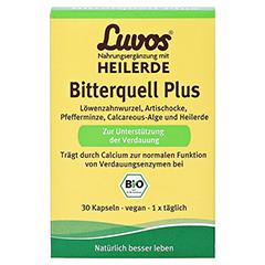 LUVOS Heilerde Bio Bitterquell Plus Kapseln 30 Stück - Vorderseite
