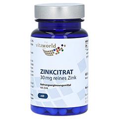 ZINKCITRAT 30 mg Kapseln 60 Stück