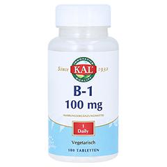 VITAMIN B1 THIAMIN 100 mg Tabletten 100 Stück