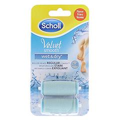 SCHOLL Velvet smooth Pedi wet & dry Ersatzrollen 2 Stück