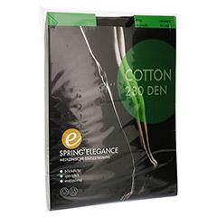 SPRING ELEGANCE Cotton 280den AD 41/42 schwarz 2 Stück