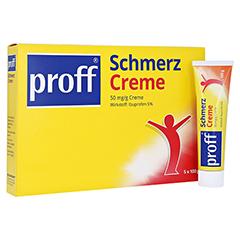 proff® Schmerzcreme 50mg/g 5x100 Gramm