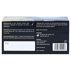 LUCOVITAL Cannabidiol CBD Hanftee 20 Stück - Unterseite