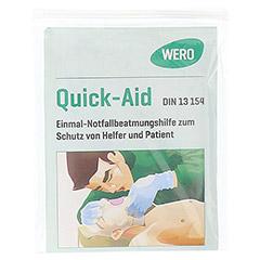 QUICK AID Einmal Notfall Beatmungshilfe Tücher 1 Stück