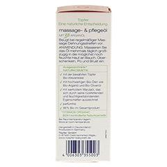 TÖPFER Mamacare Massage & Pflegeöl 100 Milliliter - Rechte Seite
