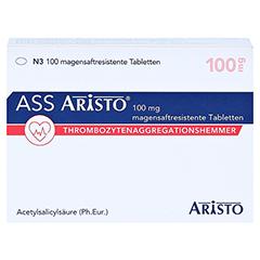 ASS Aristo 100mg 100 Stück N3 - Vorderseite