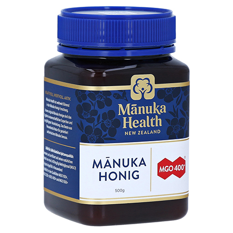 MANUKA HEALTH MGO 400+ Manuka Honig 500 Gramm