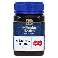 MANUKA HEALTH MGO 100+ Manuka Honig 500 Gramm - Vorderseite