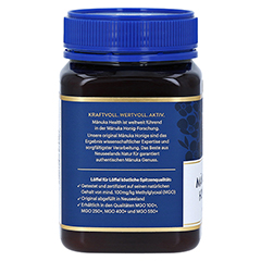 MANUKA HEALTH MGO 100+ Manuka Honig 500 Gramm - Linke Seite