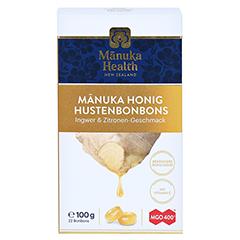 MANUKA HEALTH MGO 400+ Lutschbonb.Ingwer-Zitrone 100 Gramm - Vorderseite