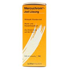 MERCUCHROM Jod Lösung 100 Milliliter N2 - Rechte Seite