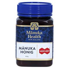 MANUKA HEALTH MGO 400+ Manuka Honig 500 Gramm - Vorderseite