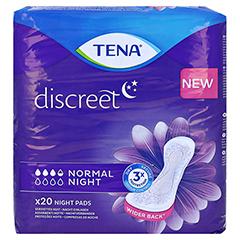 TENA DISCREET normal night Einlagen 20 Stück - Vorderseite