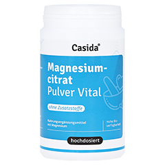 MAGNESIUMCITRAT Pulver Vital 200 Gramm