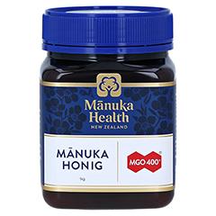 MANUKA HEALTH MGO 400+ Manuka Honig 1000 Gramm - Vorderseite