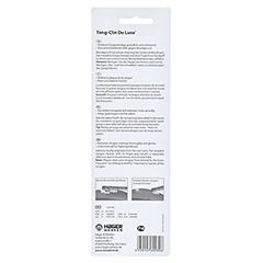 MIRADENT Zungenreiniger Tong-Clin de L.pink trans. 1 Stück - Rückseite