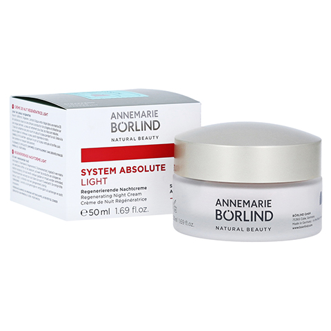 BÖRLIND system absolute Nachtcreme light 50 Milliliter